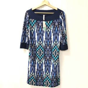 NWT Stitch Fix GILLI Printed Anissa Knit Dress